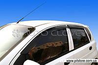Auto Clover Дефлекторы окон на CHEVROLET AVEO T200 '02-07 ХЭТЧБЕК  (накладные)
