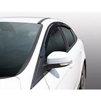 Azard Дефлекторы окон на FORD Focus III '11- седан (ПК, накладные)