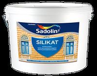 Краска Однокомпонентная силикатная фасадная SILIKAT, 10 л (белый)