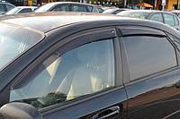 COBRA TUNING Дефлекторы окон на Chevrolet Lacetti '02- седан (накладные)