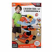 Набор инструментов детский с тележкой игровой набор 36778-69