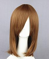Короткий парик, 45 см, цвет - светло-русый, искусственные волосы, косплей