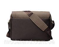 Мужская кожаная сумка Polo.  Модель 434, фото 3
