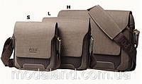 Мужская кожаная сумка Polo.  Модель 434, фото 2