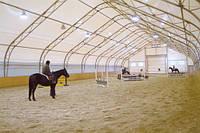 Строительство крытых конных манежей в Украине, фото 1