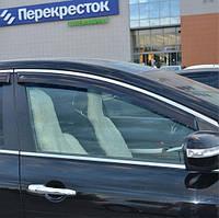 COBRA TUNING Дефлекторы окон на Mazda CX-7 '06-12 (накладные)