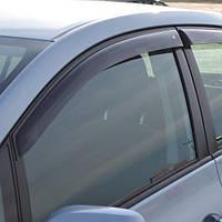 COBRA TUNING Дефлекторы окон на Toyota Auris I '07-12 хэтчбек 5d (накладные)
