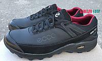 Мужские кожаные кроссовки Ecco black Gore-Tex 40.41.42.43.44.45р-30см