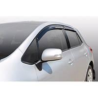 Corsar Дефлекторы окон на TOYOTA Auris I '07-12 хэтчбек (накладные)