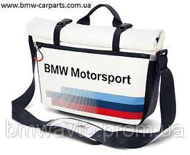 Спортивная сумка-мессенджер BMW Motorsport Messenger Bag 2017