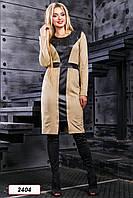 Платье 12-2404 -  св.кофе: М L XL XXL