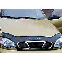 """VipTuning Chevrolet Lanos/Sens '97- (с решеткой радиатора) Дефлектор капота """"мухобойка"""""""