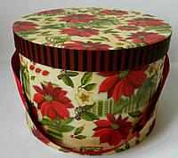 Декоративна коробка для квітів d 22 Summer 23*15,5 Декоративная коробка для цветов