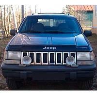 "VipTuning Jeep Grand Cherokee (ZJ) '93-98 Дефлектор капота ""мухобойка"""