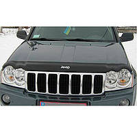 "VipTuning Jeep Grand Cherokee (WK) '05-10 Дефлектор капота ""мухобойка"""