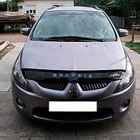 """VipTuning Mitsubishi Grandis '03-11 Дефлектор капота """"мухобойка"""""""