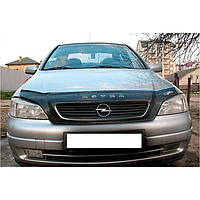 "VipTuning Opel Astra G '98-04 Дефлектор капота ""мухобойка"""