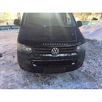 "VipTuning Volkswagen T5 '10- (вариант Б) Дефлектор капота ""мухобойка"""