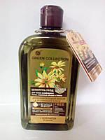"""Шампунь-уход """"Дополнительный обьем и сияющий блеск"""" Green Collection 500мл (3183)"""