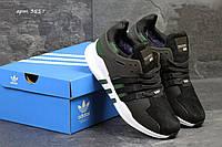 Зимние Кроссовки Adidas Equipment ADV 91-16 код 3517 черно с мехом