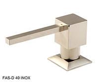Дозатор для жидкого мыла Fabiano FAS-D 40 Inox