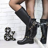 Сапоги резиновые женские Melody черные(39 размер)