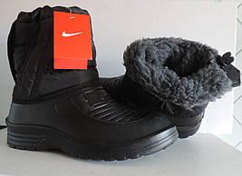 """Сапоги мужские дутики на меху Nike. Украина """"Олимп"""" реплика"""
