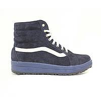 Зимняя замшевая спортивная обувь (унисекс) UNCIA SHOES на байке