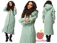 Пальто стеганое женское норма ЯС565