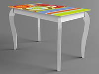Стол деревянный Egoist-Maya белый (Comfy Home TM)