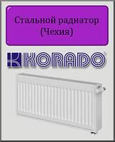 Стальной радиатор KORADO 33 тип 300х400 (нижнее подключение)