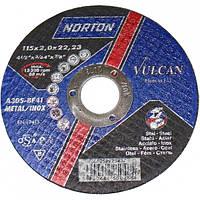 Norton Круг відрізний 41 125х2,0х22 метал Код:01415   Артикул:66252925438