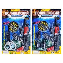 Детский Игровой Набор Полиции E 01 AK 6-7, Набор Полицейского 01 для мальчика
