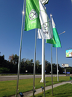 Флагшток 7м нержавейка, фото 1