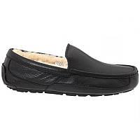 Мужские мокасины UGG Ascot Leather Black