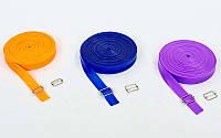 Жгут эластичный спортивный (лента жгут) 3936-10: длина 10м, толщина 4,5мм