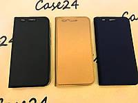 Кожаный чехол книжка Kiwis на Huawei Y3 II (Y3 2) (3 цвета)