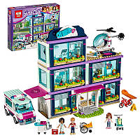 "Конструктор Lepin 01039 ""Клиника Хартлейк-Сити"" (аналог LEGO Friends 41318), 932 дет"