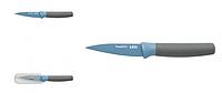 ORIGINAL BergHOFF 3950105 Нож для чистки овощей LEO, с покрытием, голубой, 8,5 см