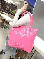 Большая виниловая сумка баула, фото 2