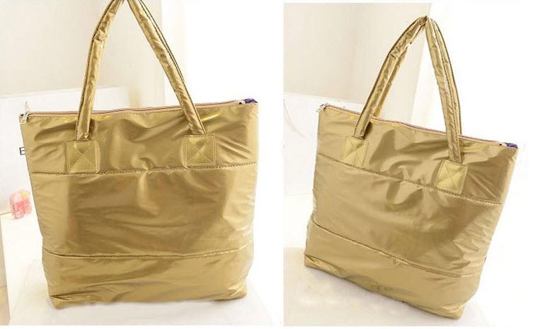 Большая виниловая сумка баула