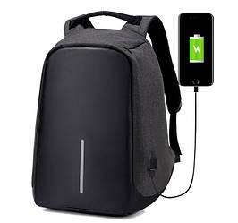 Рюкзак Bobby антивор для ноутбука черный