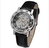 Механические часы SEWOR winner SKILETON (silver-black)