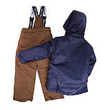 Зимний костюм для мальчика NANO 251 M F16 Navy / Cognac Taupe. Размеры 89 - 124., фото 3