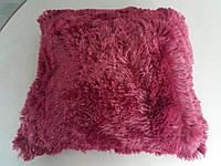 Подушки декоративные из страусинного пера40х40