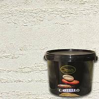 Декоративная Штукатурка Эльф-Декор Castello Sil 15кг – Травертин с добавкой силикона,паропронецаемый