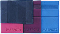 Обложка для загран паспорта из натуральной кожи второй вид
