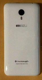 Задняя крышка Meizu Note белая