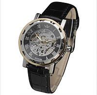 Механические часы SEWOR winner SKILETON (silver-black-gold)
