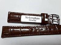 Ремешок Velengton коричневый, структура - большая 18мм